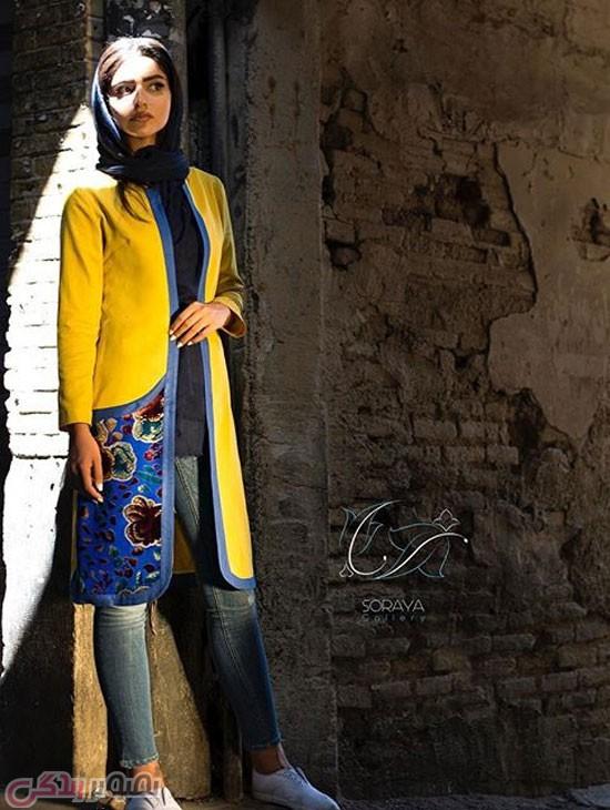 مدل مانتو دخترانه سنتی