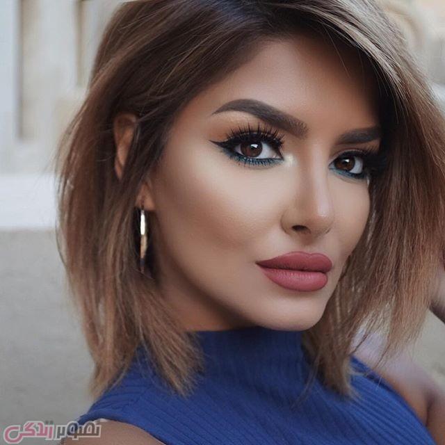 آرایش صورت جدید,مدل سایه,خط چشم