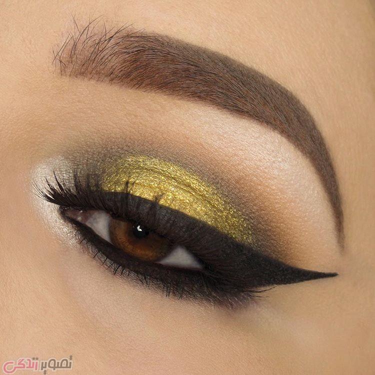 مدل خط چشم زیبا,مدل آرایش چشم,سایه چشم