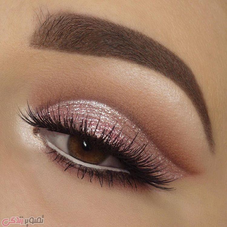 آرایش و میکاپ چشم, آرایش چشم قهوه ای, سایه چشم