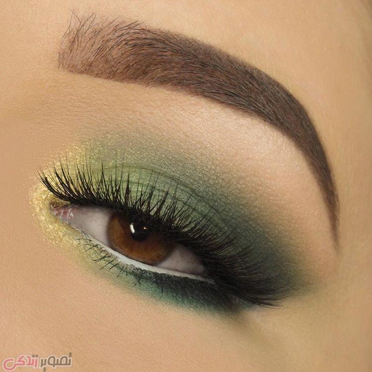 آرایش چشم مجلسی, مدل ابرو, مدل سایه چشم