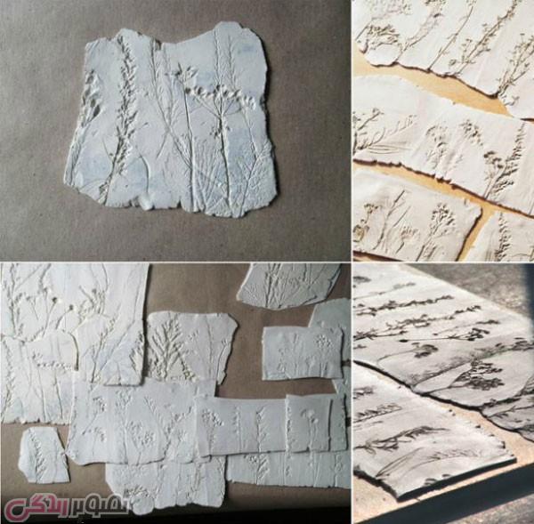 ساخت زیورآلات بوتاتیک با خمیر سرامیک و رزین