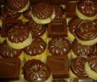 برشتوک نخودچی زنجبیلی و شکلاتی