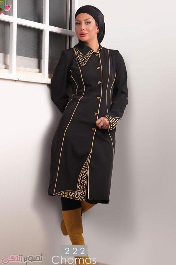 مانتو شیک دخترانه , مدل مانتو مجلسی 95