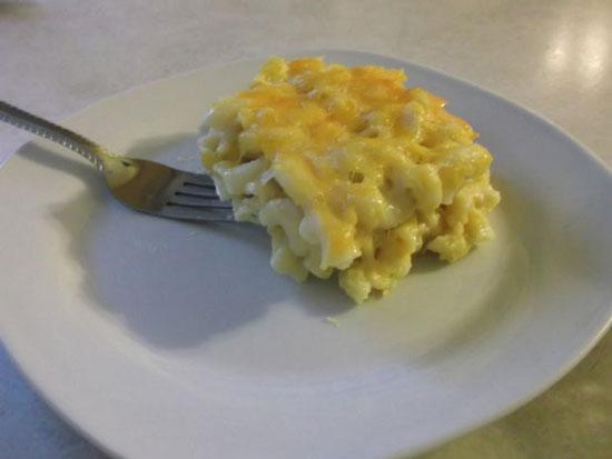 ماکارونی با پنیر