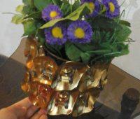ساخت گلدان بازیافتی,جاشمعی بازیافتی