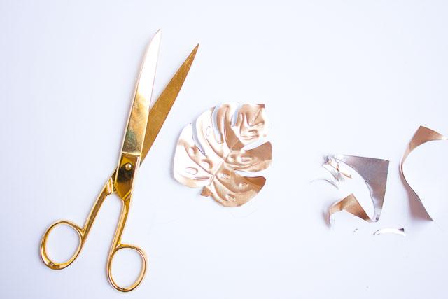 آموزش هنرهای دستی  , ساخت مگنت رو یخچالی با ورق مس