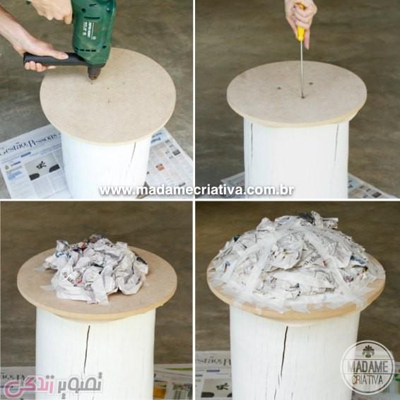ساخت صندلی قارچی, صندلی فانتزی