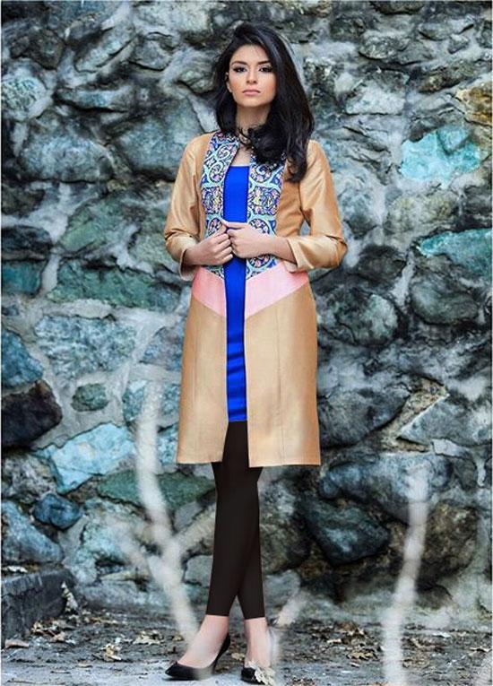ع پارچه طرح کاشی عکس مدل مانتو مجلسی طرح سنتی 95 | مدل جدید مانتو • مجله ...