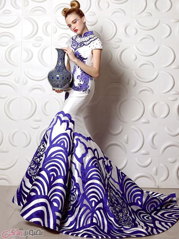 مدل لباس مجلسی 2017,لباس شب شیک