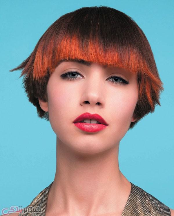موی کوتاه زنانه , هایلایت موی زیبا
