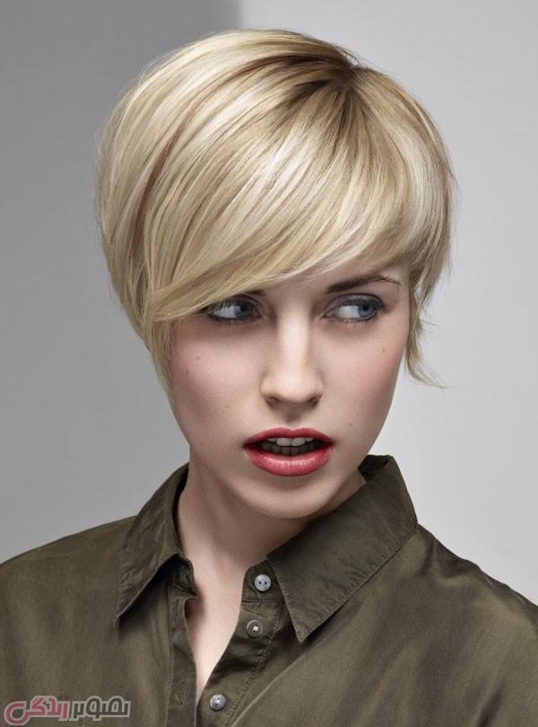 مدل موی کوتاه 2016,مدل مو فشن دخترانه