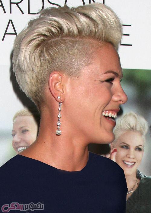 عکس جدید پینک,مدل موی کوتاه, موی فشن