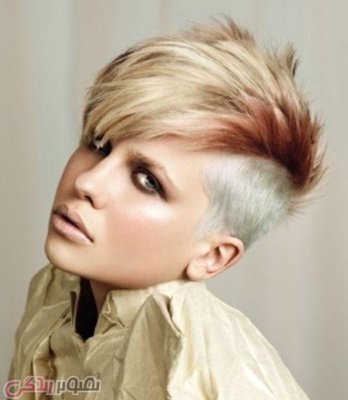مدل موی کوتاه, مدل هایلایت مو