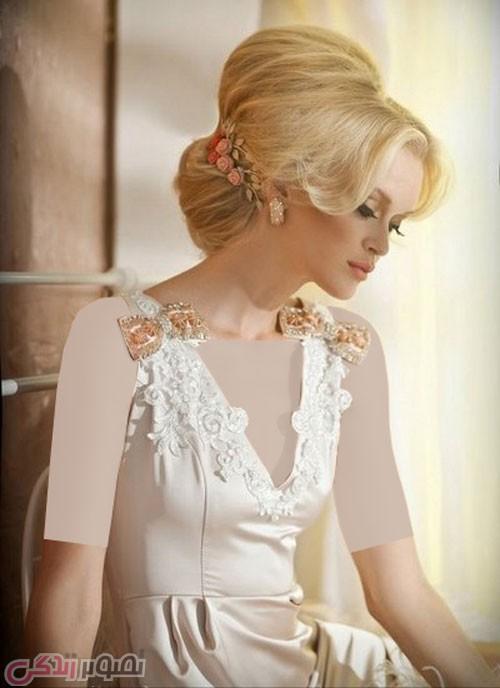 مدل شینیون عروس, مدل موی مجلسی