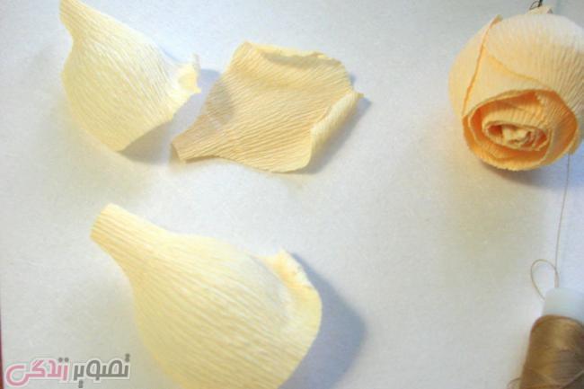 تزیین شکلات به شکل گل