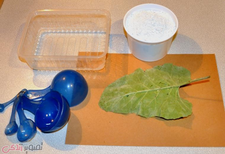 ساخت شیرینی خوری طرح برگ ,ظرف تزیینی دست ساز