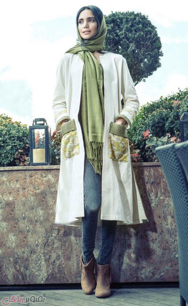 عکس مدل مانتو تابستانه 95, عکس مانتو جلو باز