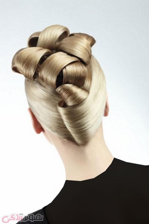شینیون جدید مو , مدل بستن مو