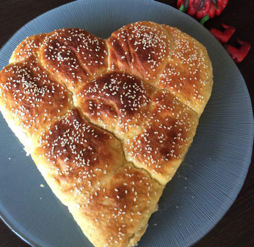 نان شیرمال خانگی