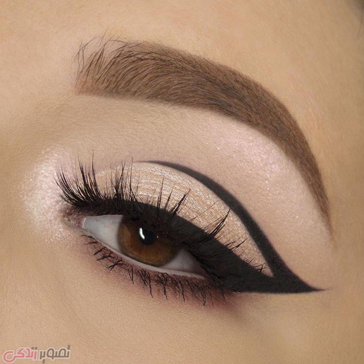 آرایش صورت  , مدل های زیبای خط چشم کشیدن و سایه زدن