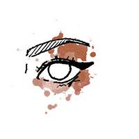 آرایش صورت  , چگونه خط چشم گربه ای بکشیم | آرایش چشم گربه ای