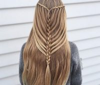 مدل بافت موی آبشاری, مدل بافتن مو