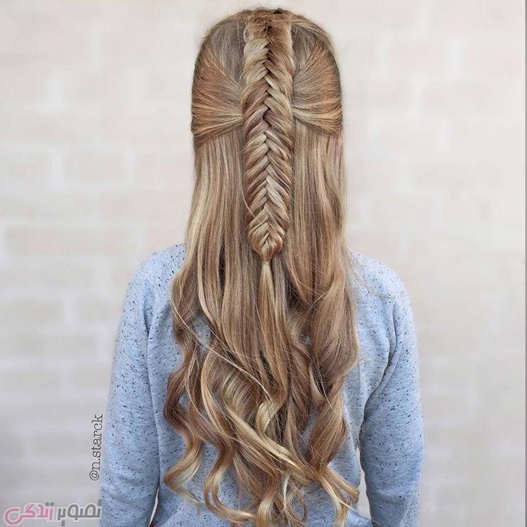 مدل بافتن مو, مدل آرایش موی بلند