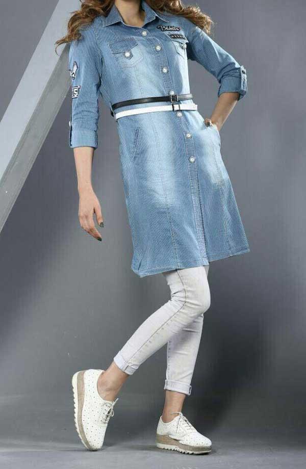 مدل مانتو لی پاییزی, مانتو اسپرت دخترانه