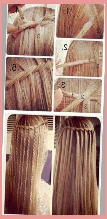 مدل بافت موی آبشاری , آموزش بافت مو