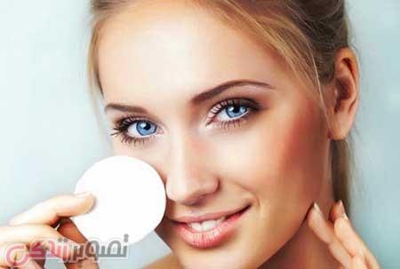 پاک کردن آرایش از صورت | پاک کردن آرایش صورت