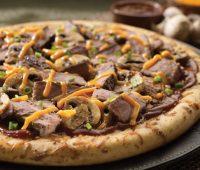 طرز تهیه پیتزای گوشت و قارچ خانگی