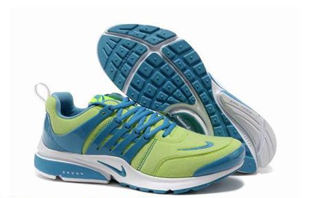 مدل کفش اسپرت پسرانه سبز و آبی نایک برای مدرسه