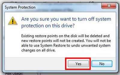 رفع مشکل پر شدن خود به خود درایو C , کم بودن حافظه کامپیوتر