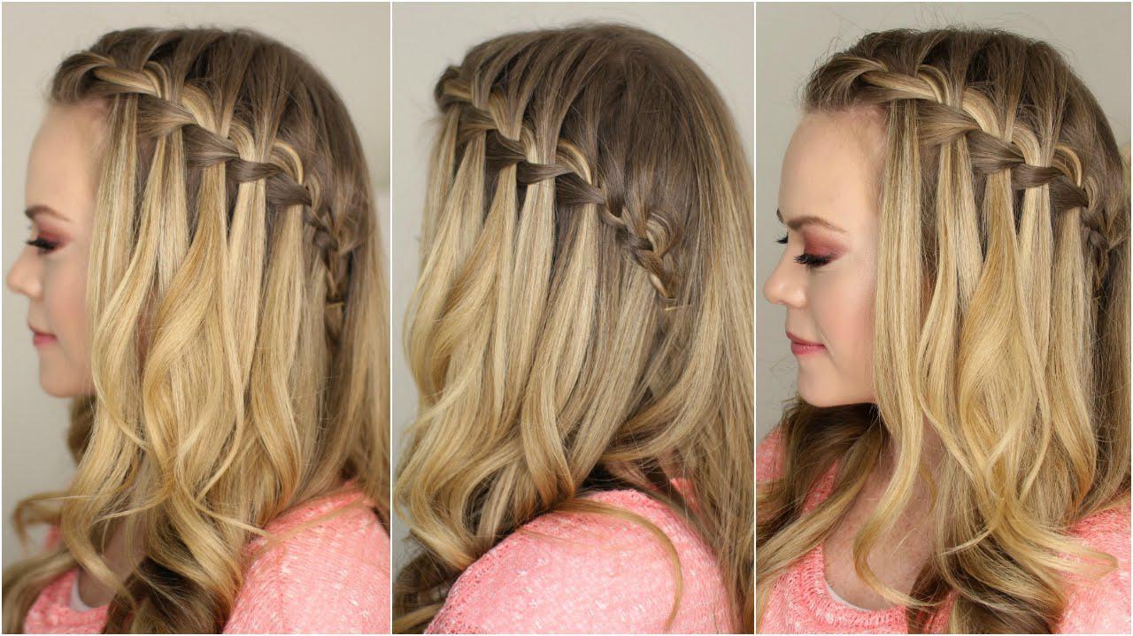 آموزش بافت موی آبشاری