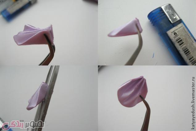 آموزش گلسازی, گل روبانی