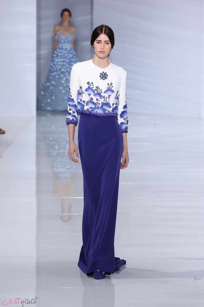 مدل لباس زنانه  , عکس مدل لباس مجلسی 2017 برند ralph&russo | مدل لباس شب