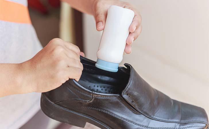از بین بردن بوی بد کفش,بوی بد پا