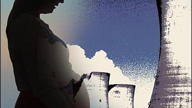 هوای آلوده , تاثیر آلودگی هوا بر جنین