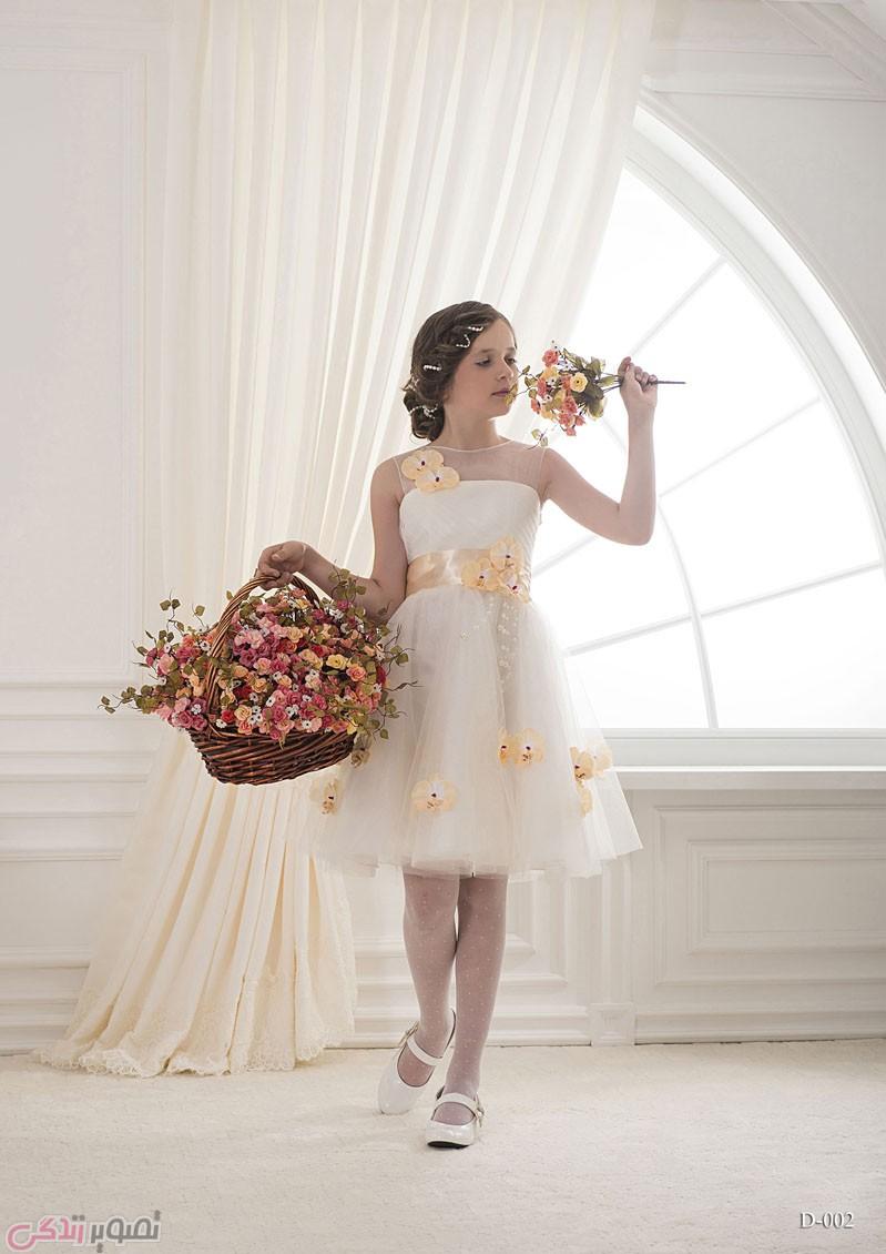 لباس بچگانه  , عکس جدیدترین مدل لباس مجلسی بچه گانه برند Silviamo | لباس پرنسسی