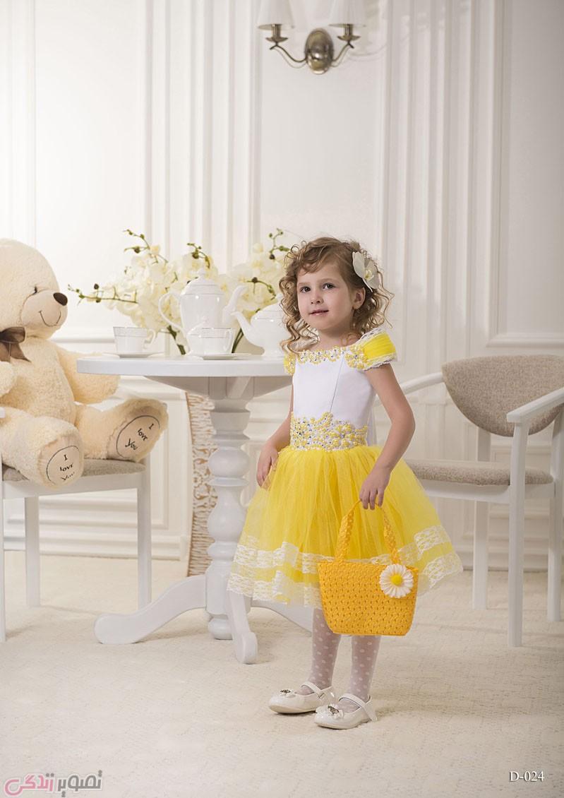 لباس مجلسی بچه گانه دخترانه, پیراهن پرنسسی
