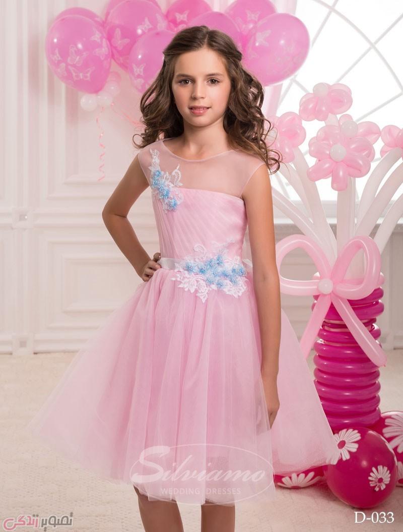 لباس مجلسی بچه گانه دخترانه