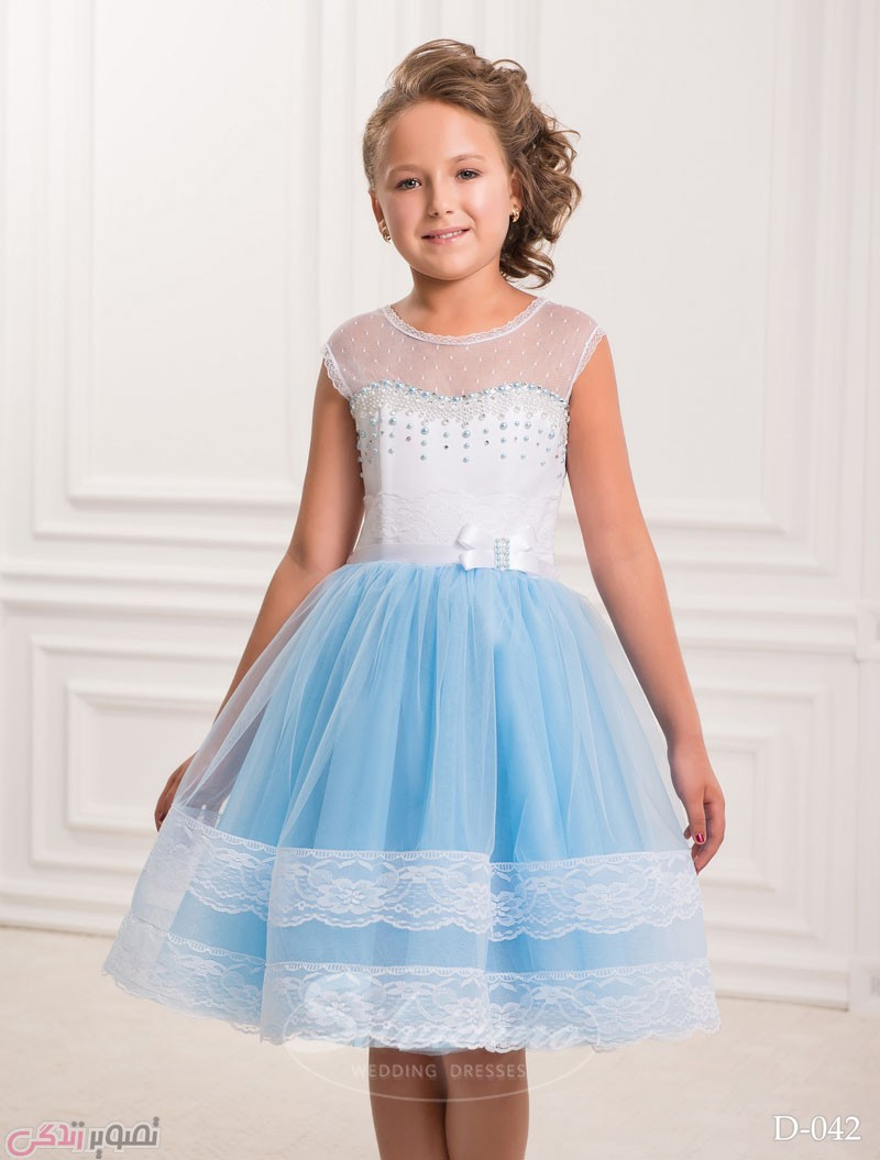لباس مجلسی بچه گانه, پیراهن مجلسی دخترانه