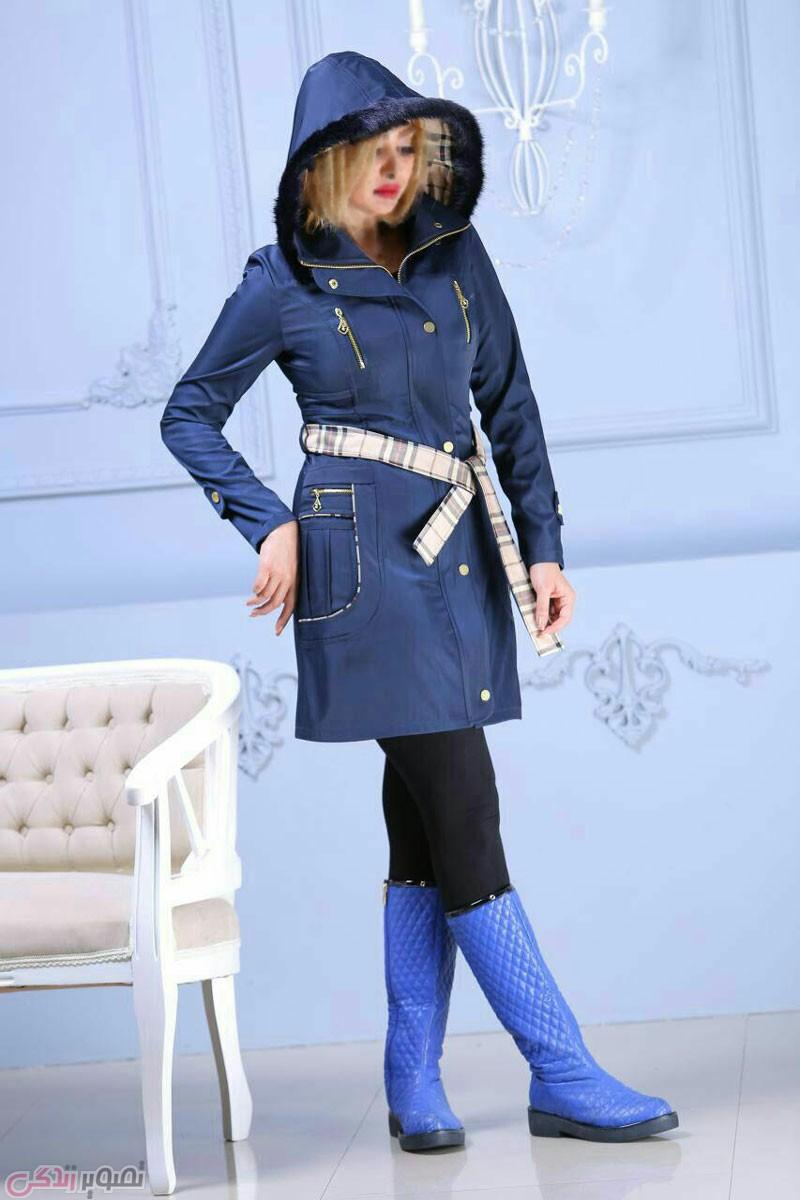 جدیدترین مدل پالتو دخترانه, پالتو کلاه دار