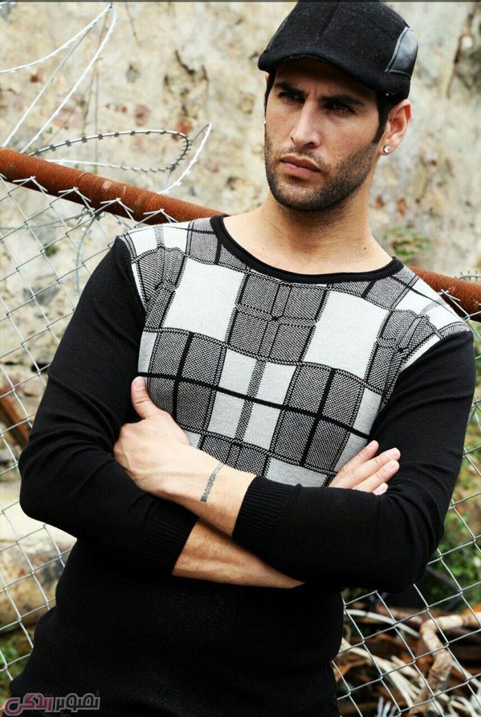 جدیدترین مدل پولیور مردانه , لباس بافتنی مردانه