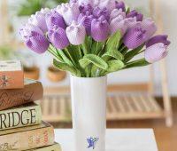 آموزی بافت گل لاله سه بعدی,آموزش قلاب بافی