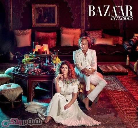 عکس شیوا صفایی مدلینگ ایرانی با محمد حدید شوهر شیوا صفایی در خانه بعد از ازدواج