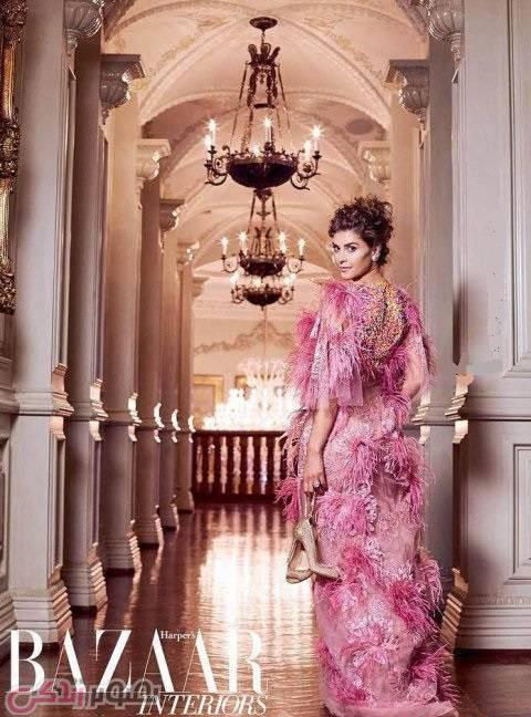 شیوا صفایی مدلینگ ایرانی در کاخ شوهر پیرش