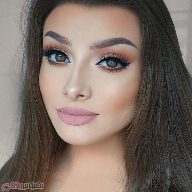 آرایش صورت جدید, آرایش چشم 2017, میکاپ حرفه ای