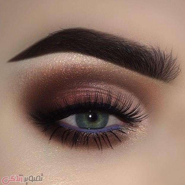 آرایش چشم 2017, میکاپ چسم,آرایش چشم عروس